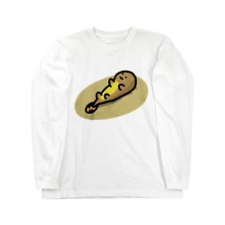 無気力な謎の生き物 ロングスリーブTシャツ