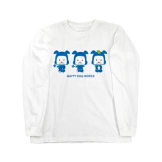 HAPPY DOG WORKS 忍者_集合B ロングスリーブTシャツ