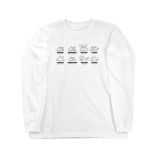 Bat Company(モノクロ) ロングスリーブTシャツ