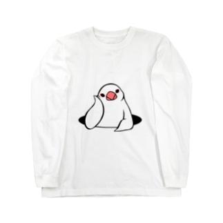 アンニュイ文鳥 ロングスリーブTシャツ