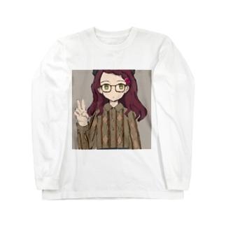 斬首ヶ原えびこver2.0 ロングスリーブTシャツ