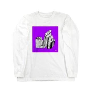 ある書架 ロングスリーブTシャツ