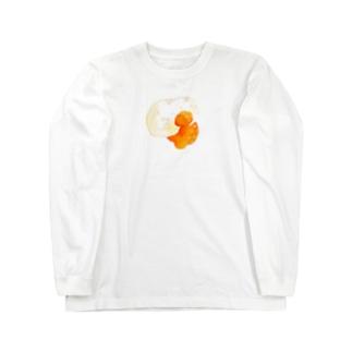 目玉焼き ロングスリーブTシャツ