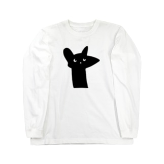 ラッキー猫 ロングスリーブTシャツ