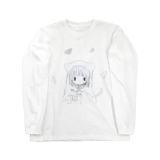 は て な ロングスリーブTシャツ