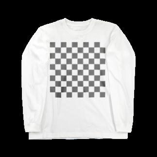 福人ずけの透明感のある ロングスリーブTシャツ