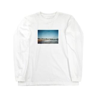 夏の海 ロングスリーブTシャツ