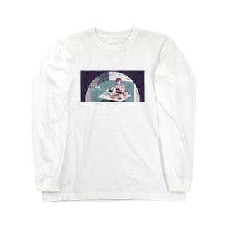喫茶ひみつ ロングスリーブTシャツ