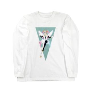 変身ヒーロー【アストロ】 ロングスリーブTシャツ