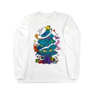 CALL MOLA 《Christmas tree》 ロングスリーブTシャツ