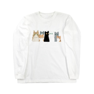 みんなネコチャン ロングスリーブTシャツ