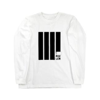 PEELER-08(BK) ロングスリーブTシャツ