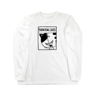 猫又SPLIT・FEAR FACE ロングスリーブTシャツ