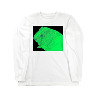 neon guinea pig ロングスリーブTシャツ