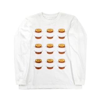 9本の伊達巻 ロングスリーブTシャツ