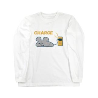 ネズミくんcharge ロングスリーブTシャツ