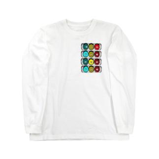 しんごうきくん ロングスリーブTシャツ