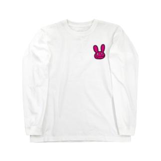のんびりウサウサ ロングスリーブTシャツ