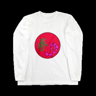 junsen 純仙 じゅんせんのJUNSENSETA(瀬田純仙)古代絵者1春D ロングスリーブTシャツ