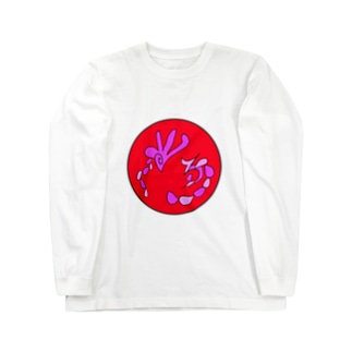 JUNSENSETA(瀬田純仙)古代絵者2C ロングスリーブTシャツ