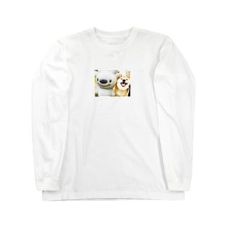 peko&teinu ロングスリーブTシャツ