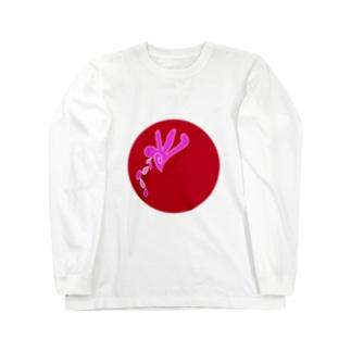 JUNSENSETA(瀬田純仙)古代絵者3I ロングスリーブTシャツ