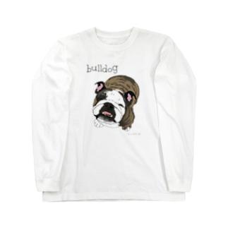ブルドッグ❤️アンディくん ロングスリーブTシャツ