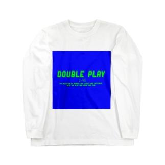 DOUBLE PLAY ロングスリーブTシャツ