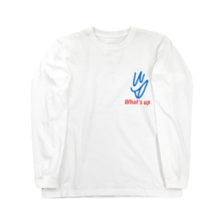 whatsup ロングスリーブTシャツ
