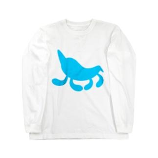 Moondrop Blue ロングスリーブTシャツ