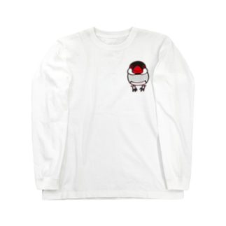 ノーマル文鳥 ロングスリーブTシャツ