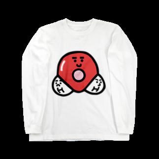 うえたに夫婦のキャラNo. 37H2O分子模型くん  ロングスリーブTシャツ