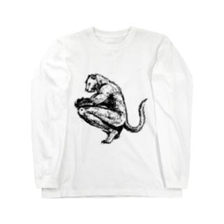 誇り高き獣人の服・明色向け ロングスリーブTシャツ