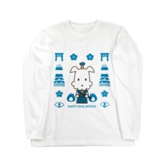 HAPPYDOG【LINEスタンプ】武士01 ロングスリーブTシャツ