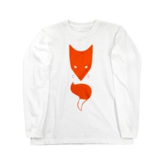 赤キツネ ロングスリーブTシャツ