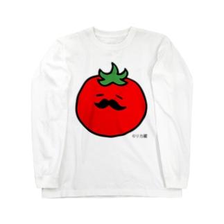 ヒゲプチトマト ロングスリーブTシャツ