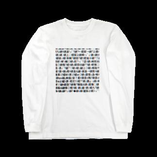 レオナのMojibake(Cyberpunk mix)ロングスリーブTシャツ