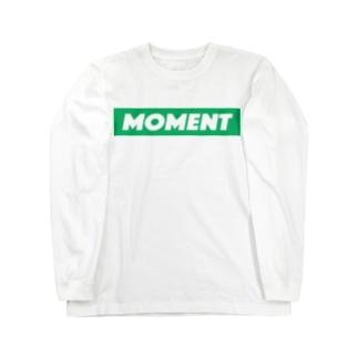 MOMENT ロングスリーブTシャツ