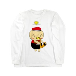 オンパ サックス ロングスリーブTシャツ