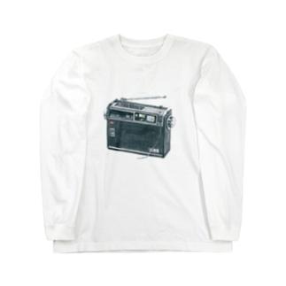 ラジカセ ロングスリーブTシャツ