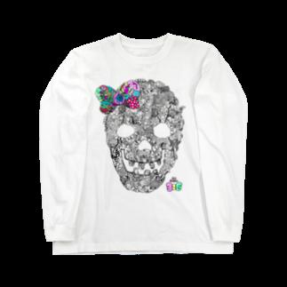 有坂愛海ショップの有坂愛海×326「グロスカルリボン」ロングスリーブTシャツ