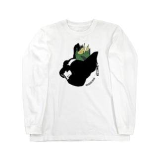 モヒカンボストンテリア ロングスリーブTシャツ