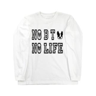 NO BT NO LIFE 2 ロングスリーブTシャツ