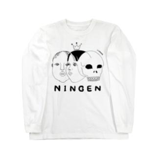 NINGEN ロングスリーブTシャツ