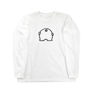 くまさんのおしり ロングスリーブTシャツ