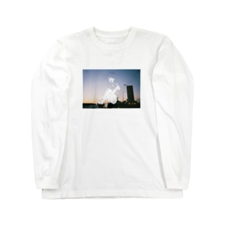 夕日少女 ロングスリーブTシャツ
