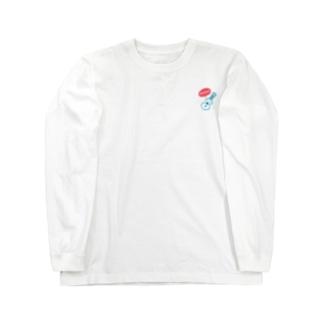 アロハなウクレレ(カラー) ロングスリーブTシャツ