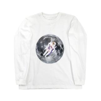 スペースネコ ロングスリーブTシャツ