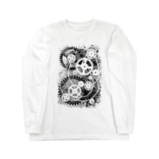 機械式-04 ロングスリーブTシャツ