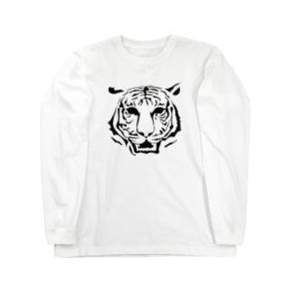 Tiger_02 ロングスリーブTシャツ